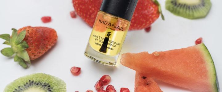 Prendre soin de ses ongles : L'huile de soin bio Méanail Paris